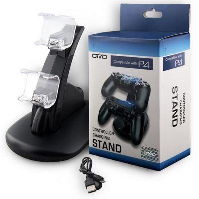 Зарядная станция для двух геймпадов PS4