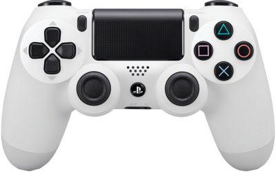 Беспроводной контроллер DUALSHOCK 4 White для PLAYSTATION 4