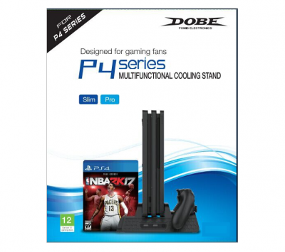 Подставка для PS4 p4 series multifunctional cooling stand