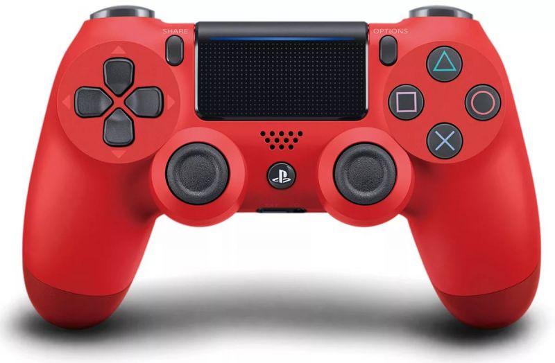 Геймпад Sony DualShock 4 Wireless Controller Красный (RED)
