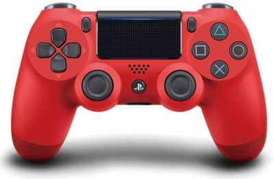 Геймпад Sony DualShock 4 Wireless Controller Красный (RED)