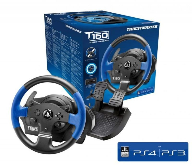 PlayStation 4 руль Thrustmaster T150 (PS4/PS3/PC)