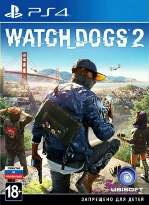 Игра Watch Dogs 2 для PlayStation 4