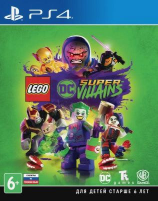 Игра для PS4 LEGO DC Super Villains