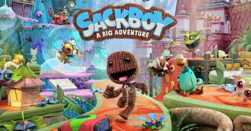 Сэкбой Большое приключение PS5 | Sackboy A Big Adventure Playstation 5