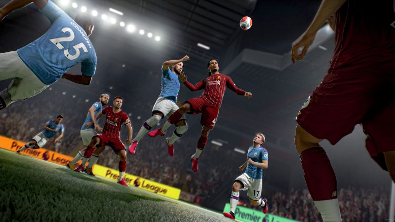Игра FIFA 21 для Sony Playstation 5 (PS5)