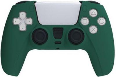 Зелёный силиконовый чехол для PS5 PlayStation 5