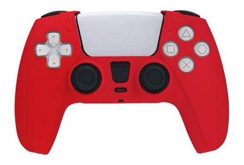 Красный силиконовый чехол для игрового контроллера PlayStation 5 PS5