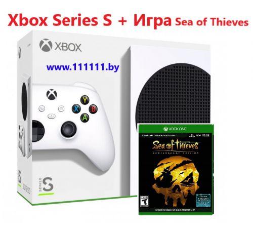 Игровая приставка Xbox Series S + Игра Sea of Thieves для Xbox