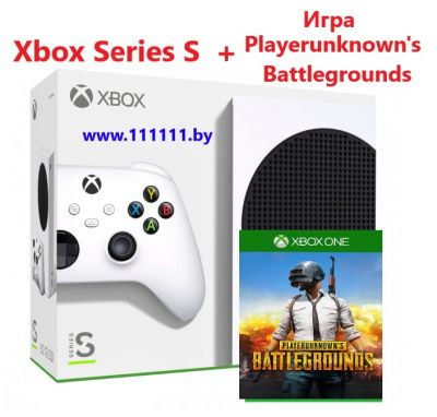 Консоль Xbox Series S + Игра Playerunknown's battlegrounds для Xbox