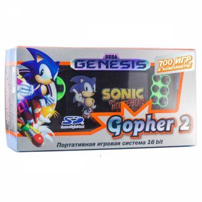 Портативная игровая приставка SEGA Retro GENESIS GOPHER 2 с 700 играми