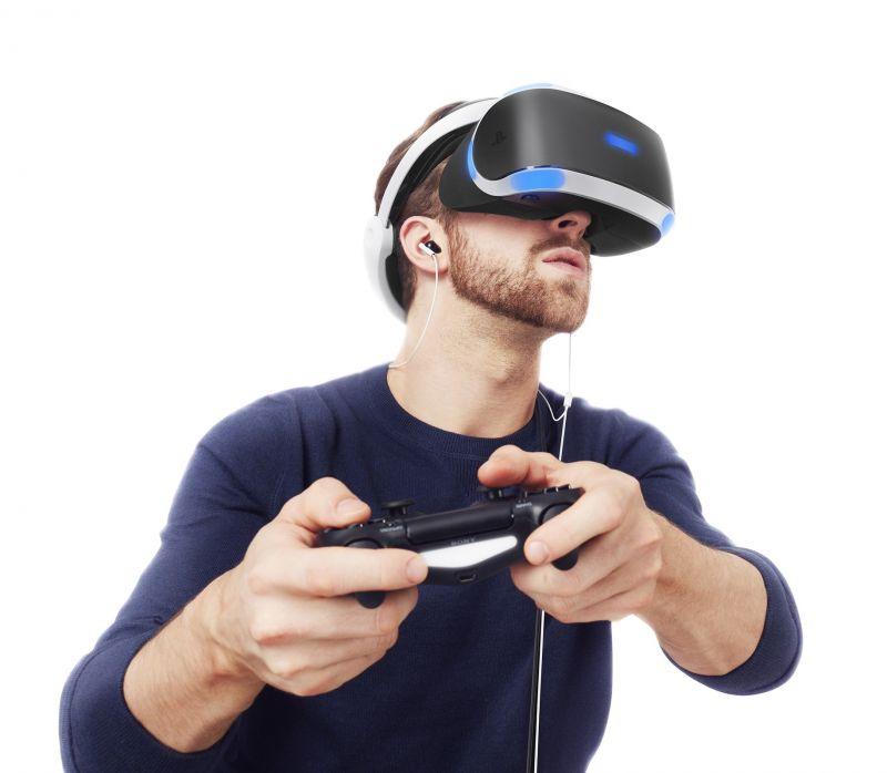 Sony PlayStation VR для PS4 + Камера PlayStation 4 (Camera PS4)