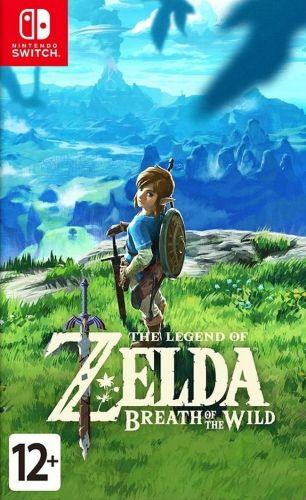 Игра The Legend of Zelda: Breath Of The Wild для Nintendo Switch