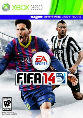 FIFA 14 (Xbox360) Полностью на русском языке!