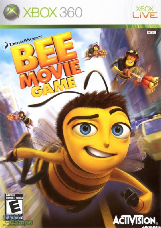 Bee Movie Game (Русская версия)