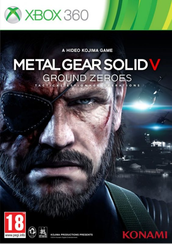 Metal Gear Solid V: Ground Zeroes (Русская версия) Xbox360