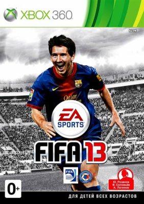 FIFA 13 (Полностью на русском языке!) [Xbox 360]