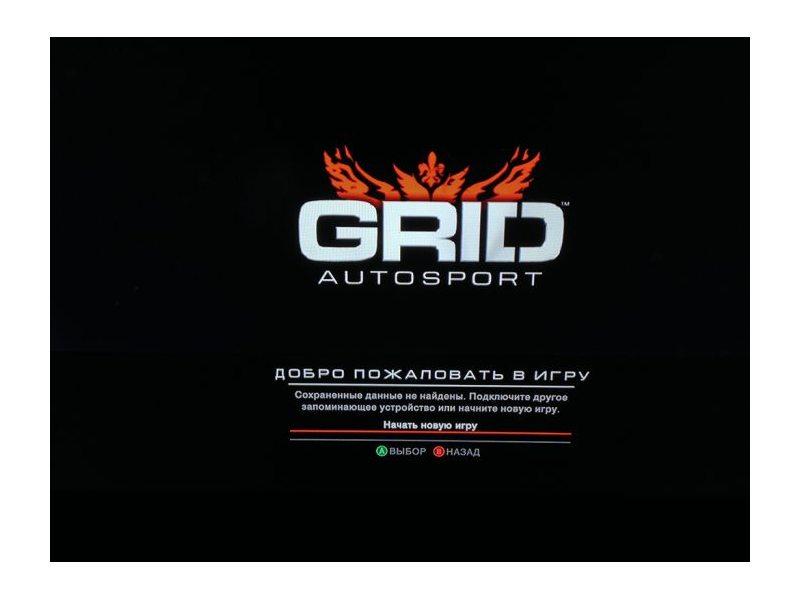 GRID Autosport (Полностью на русском языке!) Xbox360
