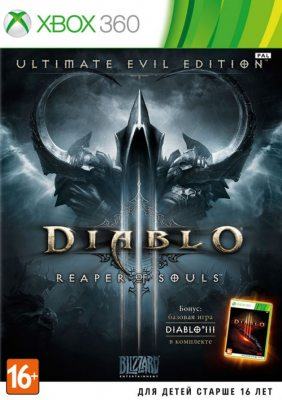 Diablo III: Reaper of Souls (Полностью на русском языке!) Xbox360