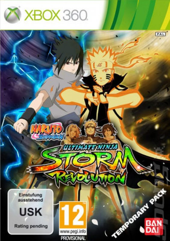 Naruto Shippuden: Ultimate Ninja Storm Revolution (Русская версия!) Xbox360