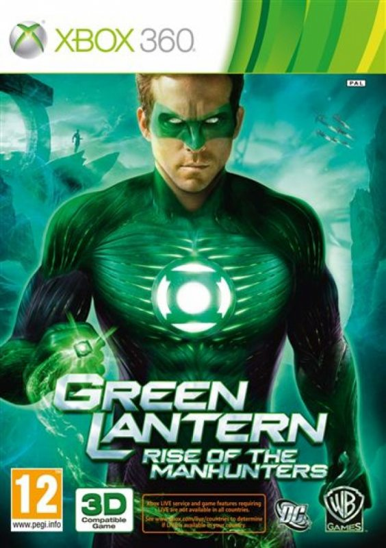 Green Lantern: Rise of the Manhunters (Русская версия)
