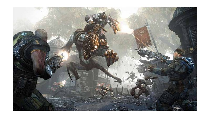 Gears of War: Judgment ( Полностью на русском языке!)