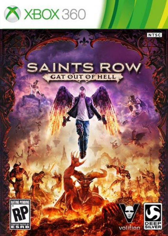 Saints Row IV: Re-Elected & Gat Out of Hell (Субтитры на русском языке) XBOX360
