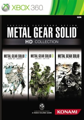 Metal Gear Solid HD Collection (2 dvd)