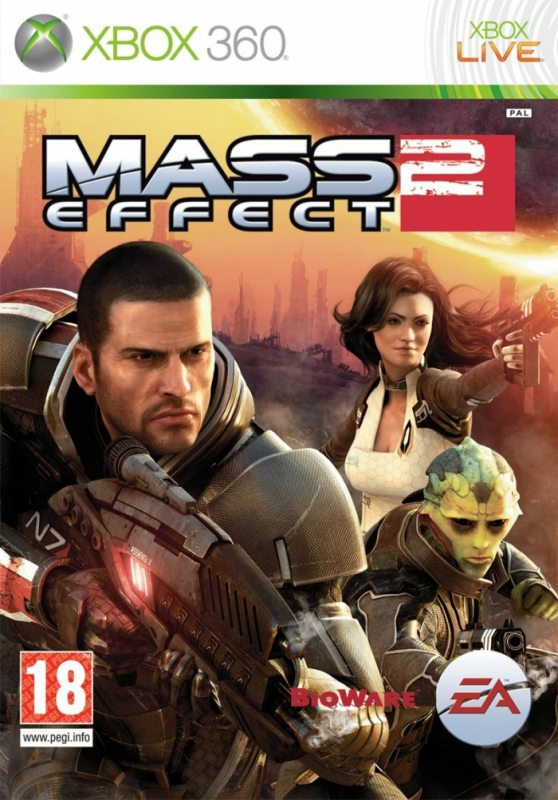 Mass Effect 2 (2 DVD) Русская версия