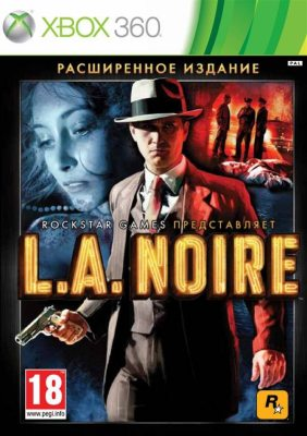 L.A. Noire Complete Edition (4 DVD) Русская версия