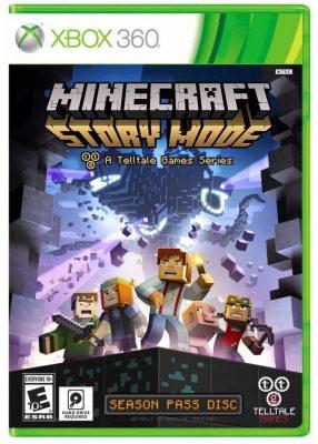 Minecraft Story Mode (XBox360) Русская версия!