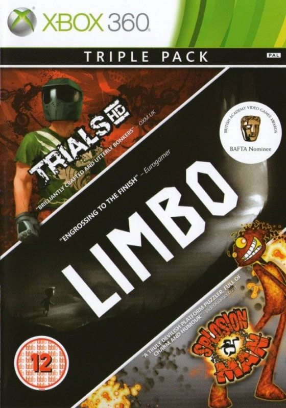 Trials HD + Limbo + Splosion Man [Xbox 360]