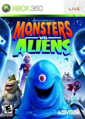 Monsters Vs Aliens (Русская версия)