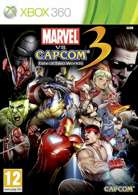 Marvel vs Capcom 3: Fate of Two Worlds [Xbox 360]