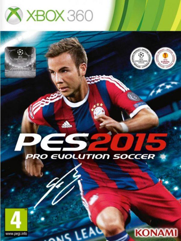 Pro Evolution Soccer 2015 (Русская версия) Xbox360