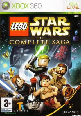 Lego StarWars The Complete Saga (Русская версия)