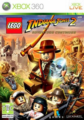 LEGO Indiana Jones 2: The Adventure Continues (Русская версия)