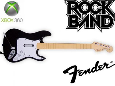 Rock Band Hero Wired Guitar Controller USB для Xbox 360 Slim