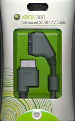 Advanced SCART AV Cablel XBox360