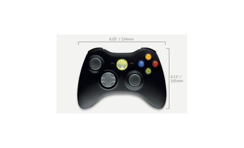 Геймпад Microsoft Wireless Controller Black (Xbox 360)