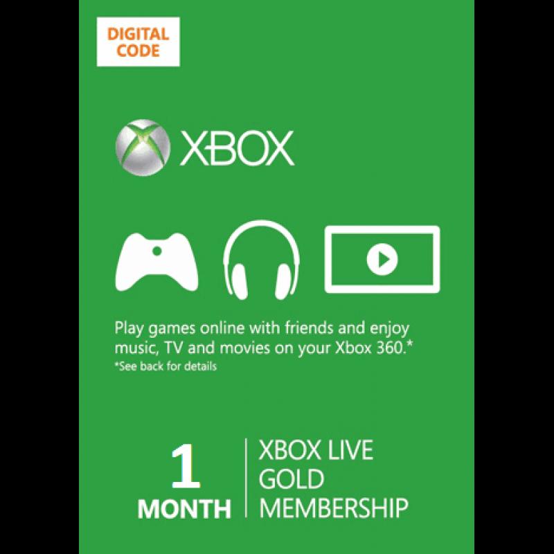 Xbox Live 1 месяц