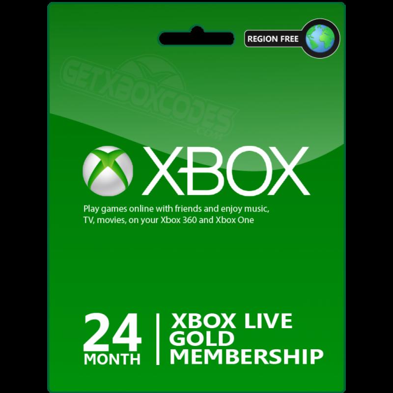 Xbox Live 24 месяца
