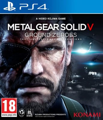 Metal Gear Solid V: Ground Zeroes (Русская версия) PS4
