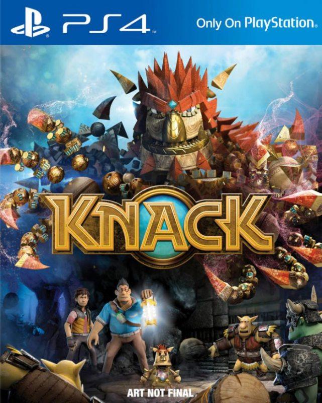Knack (Русская версия) PS4