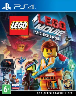The LEGO Movie Videogame (Русская версия) PS4