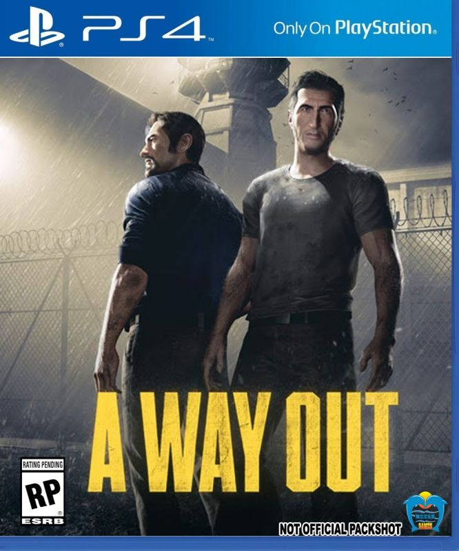 A Way Out PS4 (Playstation 4)