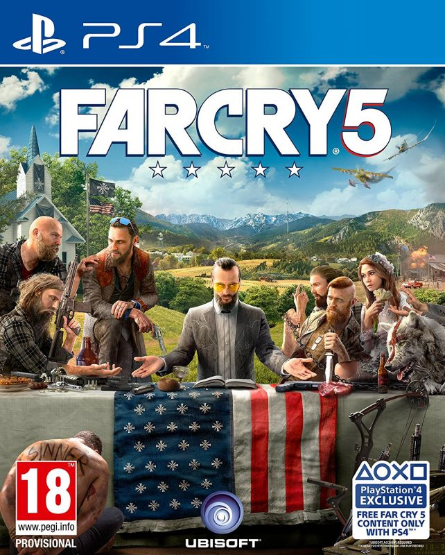 Игра для PS4 FAR CRY 5