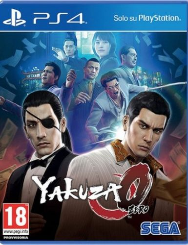Игра Yakuza Zero для PlayStation 4