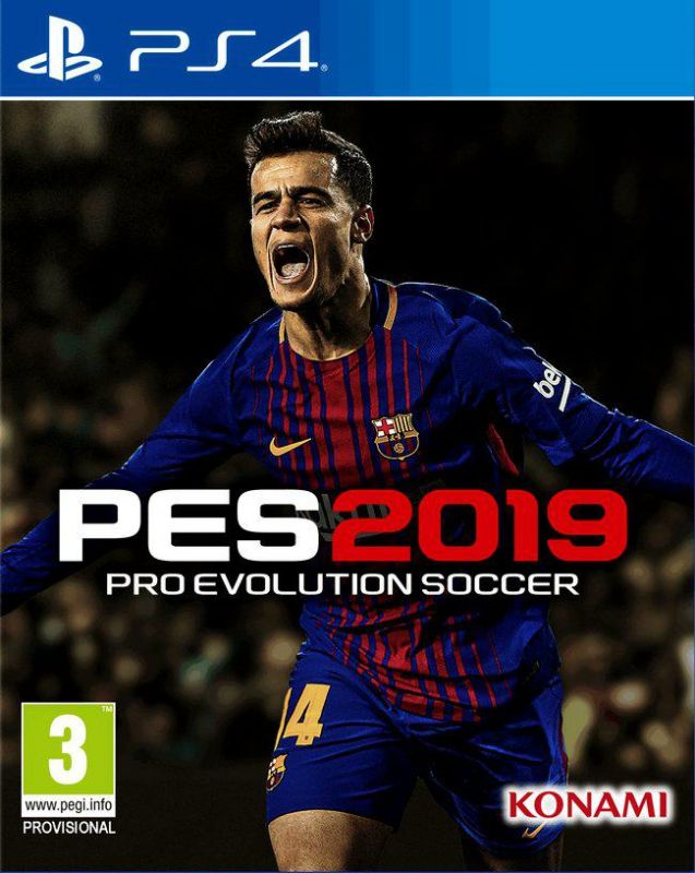 Pro Evolution Soccer 2019 PS4 (PES 2019 для PlayStation 4)