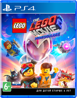 Игра для PS4 LEGO Movie 2 Videogame